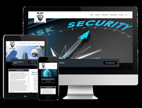 RJC Risk Solutions Website Design